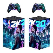 NBA 2K20 Xbox Series X Skin Sticker Decal- Design 1