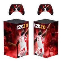 NBA 2K20 Xbox Series X Skin Sticker Decal- Design 2