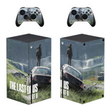 The Last of Us Part II Xbox Series X Skin Sticker Decal- Design 1