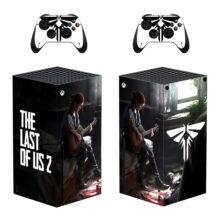 The Last of Us Part II Xbox Series X Skin Sticker Decal- Design 3