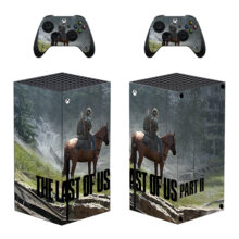 The Last of Us Part II Xbox Skin Sticker Decal For Xbox Series X- Design 2