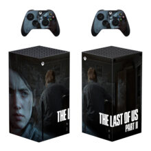 The Last of Us Part II Xbox Skin Sticker Decal For Xbox Series X- Design 4