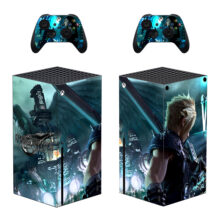Final Fantasy VII Xbox Skin Sticker Decal For Xbox Series X