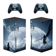 Final Fantasy VII Skin Sticker For Xbox Series X And Controllers- Design 1