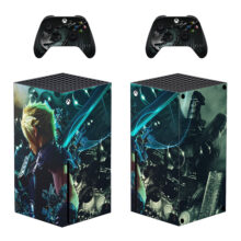 Final Fantasy VII Skin Sticker For Xbox Series X And Controllers- Design 2