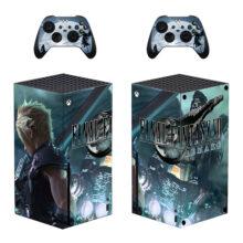 Final Fantasy VII Xbox Series X Skin Sticker Decal- Design 2