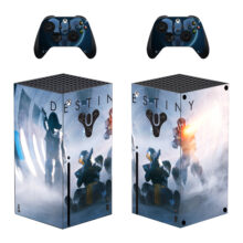Destiny Xbox Series X Skin Sticker Decal