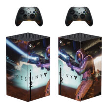 Destiny 2 Skin Sticker For Xbox Series X And Controllers- Design 1