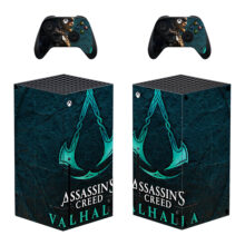 Assassin's Creed Valhalla Xbox Series X Skin Sticker For Decal