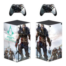 Assassin's Creed Valhalla Skin Sticker Decal For Xbox Series X- Design 1