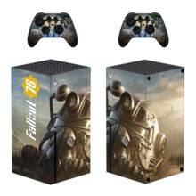 Fallout 76 Skin Sticker Decal For Xbox Series X- Design 4
