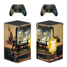 Fallout 76 Skin Sticker For Xbox Series X And Controllers- Design 3