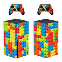 Bricks Skin Sticker For Xbox Series X And Controllers