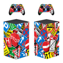 Road Signs Skin Sticker For Xbox Series X And Controllers