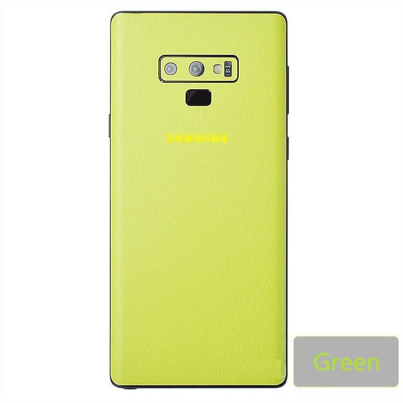 Leather Grain Skin Sticker For Samsung S7 S8 S9 NOTE8 S7Edge S8 Plus S9Plus Cover