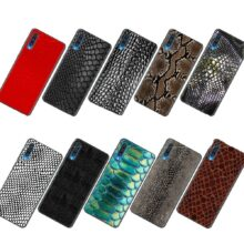 Lavaza Snake Skin Soft Silicone Case for Samsung Note A3 A5 A6 A7 A8 A9 A10 A30 A40 A50 A70 8 9 J6 Plus