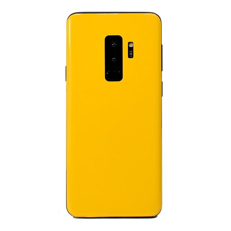 NOTOW fashion High gloss sticker skins protective film mobile back sticker for Samsung Galaxy s10/s10plus/s9/s9plus/s10e/s8/s8+