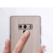 NOTOW Luxury Wood Skin Phone Sticker protective film Back Body Decal Wrap Protective for Samsung Note9/Note 8/ s8/s8+/s9/s9plus