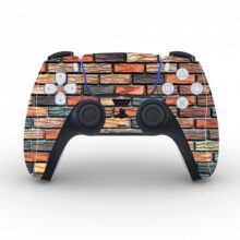 Color Stone Bricks Skin Sticker For PS5 Controllers