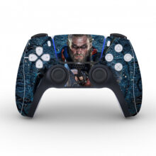 Assassin's Creed Valhalla Skin Sticker For PS5 Controllers