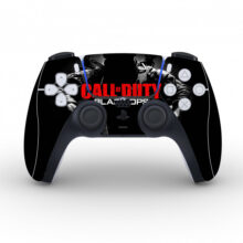 Call Of Duty Black Ops Skin Sticker For PS5 Controllers