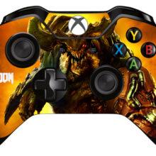 Doom Wallpaper Xbox One Controller Skin Sticker Decal