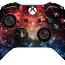 Milky Way Galaxy Pattern Xbox One Controller Skin Sticker Decal Design 6