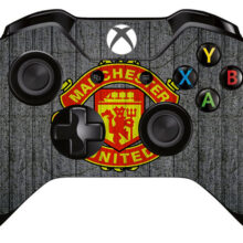 Manchester United Logo Xbox One Controller Skin Sticker Decal