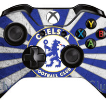 Chelsea Logo Xbox One Controller Skin Sticker Decal