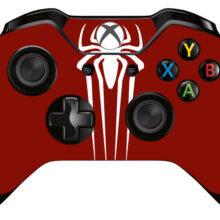 Spider-Man Xbox One Controller Skin Sticker Decal Design 2