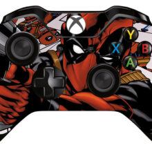Deadpool Xbox One Controller Skin Sticker Decal Design 12