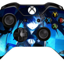 Black Rock Shooter Xbox One Controller Skin Sticker Decal