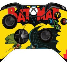 Batman Xbox One Controller Skin Sticker Decal Design 1