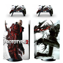 Prototype 2 PS5 Skin Sticker For PlayStation 5 And Controllers