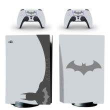 Batman Arkham Skin Sticker For PS5 Skin And Controllers