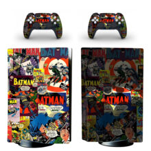 Batman Skin Sticker For PS5 Skin And Controllers
