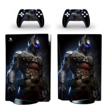 Batman Arkham PS5 Skin Sticker Decal Design 1