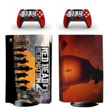 Red Dead Redemption 2 PS5 Skin Sticker Decal Design 3