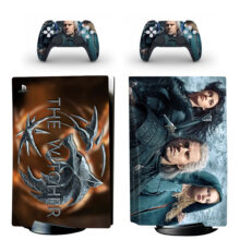 The Witcher PS5 Skin Sticker Decal Design 2