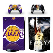 Los Angeles Lakers Skin Sticker For PS5 Skin And Controllers