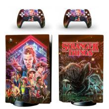 Stranger Things PS5 Skin Sticker Decal Design 1