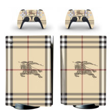 Burberry Wallpaper Skin Sticker Decal For PlayStation 5