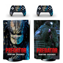 Predator Hunting Grounds PS5 Skin Sticker Decal