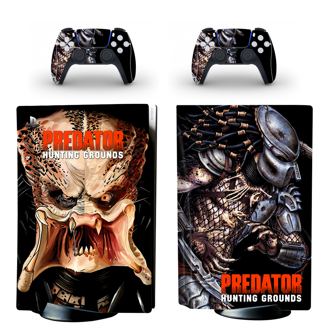 Predator Hunting Grounds Skin Sticker Decal For PlayStation 5 Design 1