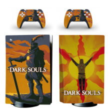 Dark Souls PS5 Skin Sticker Decal Design 5