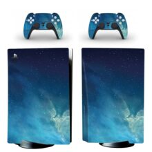 Sky Pattern Skin Sticker For PS5 Skin And Controllers