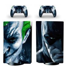 Batman And Joker PS5 Skin Sticker Decal