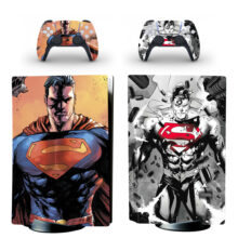 Superman Skin Sticker For PS5 Skin And Controllers