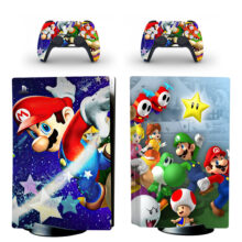 Mario Series PS5 Skin Sticker For PlayStation 5 And Controllers