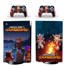 Minecraft Dungeons PS5 Skin Sticker Decal